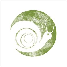 Snails Pace Logo by Ashley Verkamp, via Behance Animal Outline, Snail Art, Blog Logo, Green Logo, Logo Design, Graphic Design, Business Icon, Art For Art Sake, Stencil Designs