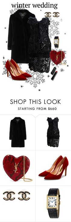"""""""Untitled #138"""" by fernieplopez ❤ liked on Polyvore featuring Baldinini, Yves Saint Laurent, Rupert Sanderson, Chanel, Cartier and Bobbi Brown Cosmetics"""
