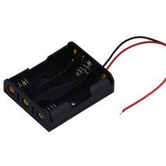 2PCS Plastical Battery Holder Box Case 3 AAA To 18650 Battery Converte HI