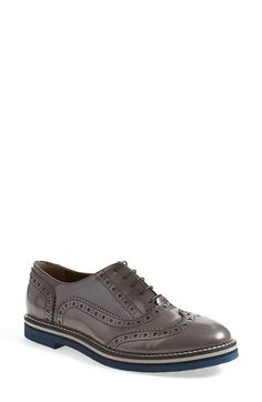 "Free shipping and returns on AGL Attilio Giusti Leombruni Brogue Oxford (Women) at Nordstrom.com. <p><B STYLE=""COLOR:#990000"">Pre-order this style today! Add to Shopping Bag to view approximate ship date. You'll be charged only when your item ships.</b></p><br>Handsome hues distinguish an expertly crafted menswear-inspired oxford framed with brogue and wingtip details."