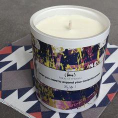 Haus of Meraki Contemporary Candles, Meraki, Consciousness, Candle Jars, Jasmine, Vanilla, Lavender, Artisan, Fragrance