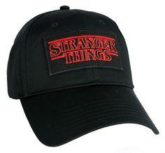 Stranger Things Hat Baseball Cap Alternative Clothing Supernatural Horror Sci Fi