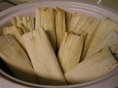 Carrie's Creative Kitchen: Crockpot Tamales - Guest Poster Michele from Sweet Luvin' in the Kitchen