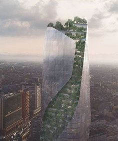 daniel libeskind reveals two competition-winning projects planned for france Chinese Architecture, Modern Architecture House, Futuristic Architecture, Modern Houses, Daniel Libeskind, Zaha Hadid Architects, Santiago Calatrava, Europe Destinations, Le Corbusier
