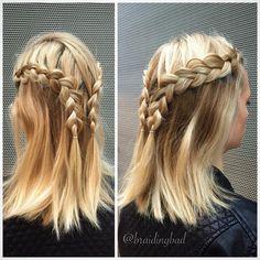 "114 tykkäystä, 5 kommenttia - Heli (@braidingbad) Instagramissa: ""The last braids of 2016 for @tiiareeta #dutchbraid #pullback . . #lacedutchbraid #braidideas…"""