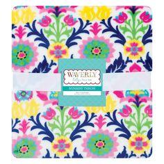 Waverly Baby by Trend Lab Santa Maria Plush Throw Blanket