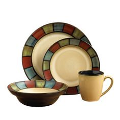 Dinnerware Set, 48 Piece, Service for 12  My future dishes