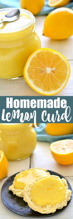Homemade Lemon Curd is sweet, creamy, and full of fresh lemon flavor. Perfect for spreading on waffles or scones, and a great way to add a fun twist to your favorite recipes!