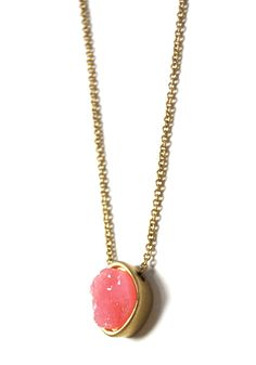 Natural Wonder Necklace: Pink - $12.99 : Spotted Moth, Chic and sweet clothing and accessories for women