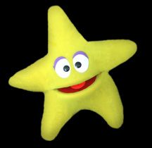 Blacklight Puppets - Blacklight Star Puppet
