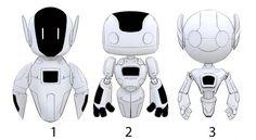 Cute robot concept by XeroHaggard on DeviantArt Character Model Sheet, Character Modeling, Character Concept, Simple Character, Robot Cute, Ai Robot, Cyberpunk, Robots Characters, Cute Characters