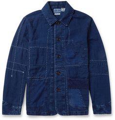 Blue Blue Japan Patchwork Cotton Lightweight Jacket | MR PORTER
