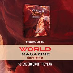 Carved in Stone: Geological Evidence of the Worldwide Flood—featured on the WORLD Magazine short list for #ScienceBookOfTheYear! Purchase this #InDepthScience book here: Science Resources, Science Books, Institute For Creation Research, Noah Flood, Research Publications, Us Data, Earth Surface, Plate Tectonics, Oil Industry