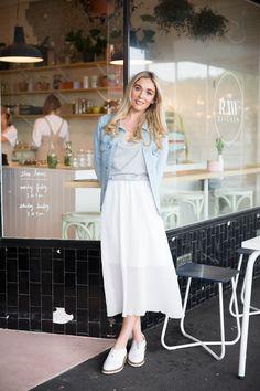 #mymoochistyle featuring gracie taylor White Dress, Style Inspiration, My Style, Dresses, Women, Fashion, Vestidos, Moda, Fashion Styles