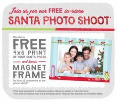 Free Photo With Santa at Walgreens!