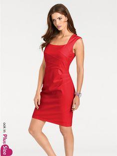 1b8a4a2921f637 Koop heine TIMELESS - Kokerjurk rood in de heine online-shop