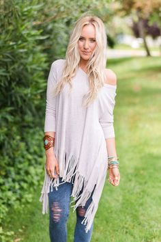 Wilma Fringe Tunic by Three Bird Nest | Bohemian Clothing