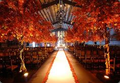 Breath taking fall inspired wedding decorations you'll love.