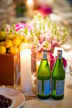 bowls of fresh lemons, bottles of pellegrino and loads of potted flowers make this ballroom wedding al fresco-esque and completely stunning  Photography by http://studioimpressions.com.au, Event Coordination and Styling by http://philipcarr.com.au