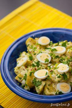 Photo Salade de Pommes de Terre à lIndienne