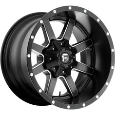 FUEL® - MAVERICK DEEP LIP Matte Black with Milled Accents. The wheel can be ordered in diameters. Choose your rim width, offset, bolt pattern and hub diameter from the option list. Truck Rims, Off Road Wheels, Wheel And Tire Packages, Aftermarket Wheels, Dually Wheels, Rims And Tires, Jeep Wheels And Tires, Black Wheels, Custom Wheels