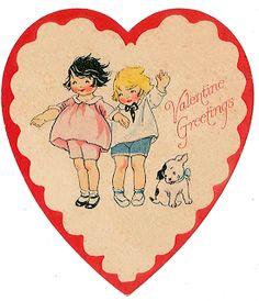 http://verymerryvintagestyle.blogspot.com/2011/01/vintage-valentine-cards-decor-link-up.html