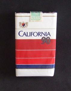 Embalagem de California  90 Vintage Tools, Vintage Ads, Nostalgia, Cigarette Brands, Cigar Smoking, Cigars, Advertising, Packing, Smoke