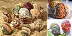 Great ideas for painting Easter eggs eco and natural