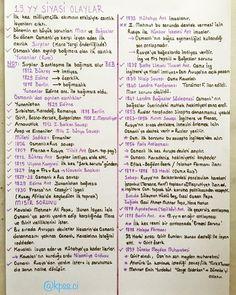 Yeni notunuz  #kpss #kpssci #kpss2018 #kpsslisans #kpssönlisans #kpssortaogretim #yks #tyt #tarih #osmanlı #dağılma Funny History Facts, World History Facts, Black History Facts, Strange History, Art History, Ancient Egypt History, Scotland History, History Education, School Humor