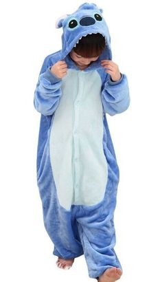 Blue Stitch Onesie for Kids - Unicorn Onesies