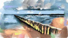 Ustronie Morskie Art.2016 Akwarela