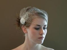 Trend Alert: Birdcage Veils « Bridal Fashion Canada