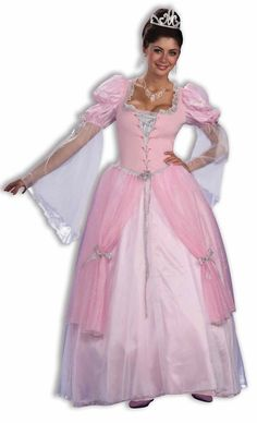 Sleeping Beauty Fairy Princess Halloween Costume - Calgary, Alberta. A great costume idea for a medieval or masquerade themed Halloween party. Or wear as the perfect Sleeping Beauty costume to your little girl's Fairytale Princess birthday party.  Dance the night away at a Halloween party, or a masquerade ball with this gorgeous, poofy pink tulle Fairytale Princess costume.