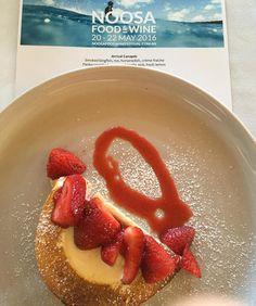 The Bombe - frozen white #chocolate parfait strawberry sorbet & toasted meringue #strawberry #dessert  #restaurantaustralia