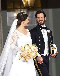13 June 2015 - Prince Carl Philip of Sweden's wedding to Sofia Hellqvist
