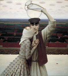 Surrealism and Visionary art: Andrey Remnev Russian Painting, Russian Art, Art Visionnaire, Modern Art, Contemporary Art, Illustration Art, Illustrations, Magic Realism, Visionary Art