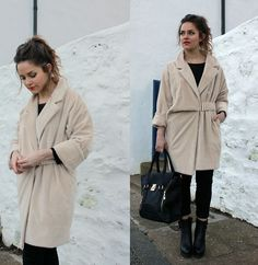 Get this look: http://lb.nu/look/5634550 More looks by Amy Bell: http://lb.nu/amybell Items in this look: Paisie Oversized Faux Fur Coat, La Moda Bag