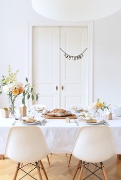 Tabletop Ideas For October Entertaining