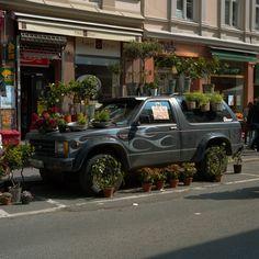 flower shop at grünerløkka, oslo.