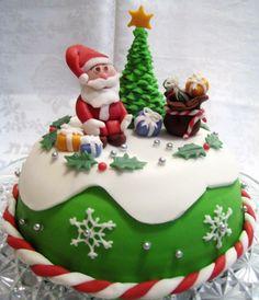 Christmas cake - I made it :)