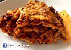 Schwarze Bohnen Lasagne
