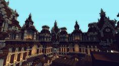 173x173 Fantasy/ Baroque (kinda) spawn Minecraft Project