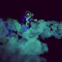 #gas #toxic #danger #cinema4D #C4D #Grafica3D #Sculpting #3D #3Dote #smoke #effects #maschera by otegold