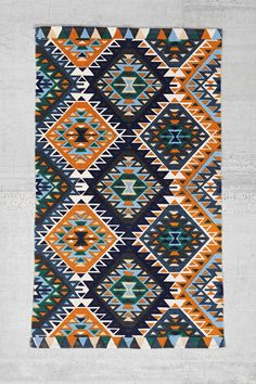 Magical Thinking Ankara Diamond Printed Rug  - Urban Outfitters