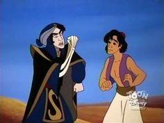 Aladdin and Mozenrath Disney Villains, Disney Characters, Fictional Characters, Aladdin Art, Aladdin And Jasmine, Modern Disney, A Whole New World, Jelsa, Disney Channel