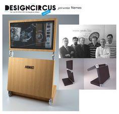 DesignCircus Stationary presenta, in via Marghera, dal 14 al 30 aprile, Nemes. Firmato da Filippo Tazzari, Arlecchino è un totem e tavolo interattivo parte della linea Primo Progetto, che intende creare un'innovativa offerta dell'ICT-Style italiano.