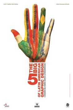 Title: Big The, Artist: Darias Corpas, Juan Carlos Big Design, Graphic Design, Design Ideas, Big 5, Artist, Posters, Hands, Collection, Symbols And Meanings