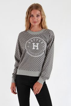 2383aa257a2001 Huffer Embroidered Neo Crew - Sweatshirts and Crews