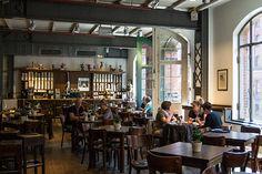 #Speicherstadt Kaffeeroesterei Good coffee, nice cafe in HafenCity Hamburg