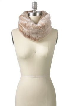 Women's Fur Snood from Lands' End